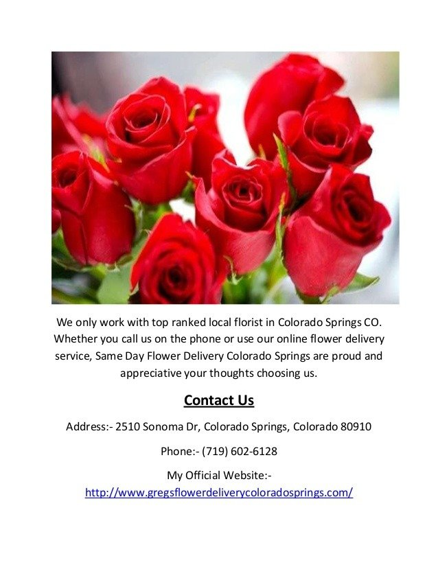 Flower delivery colorado springs call 719 6026128 same day flower back to post flower delivery colorado springs mightylinksfo