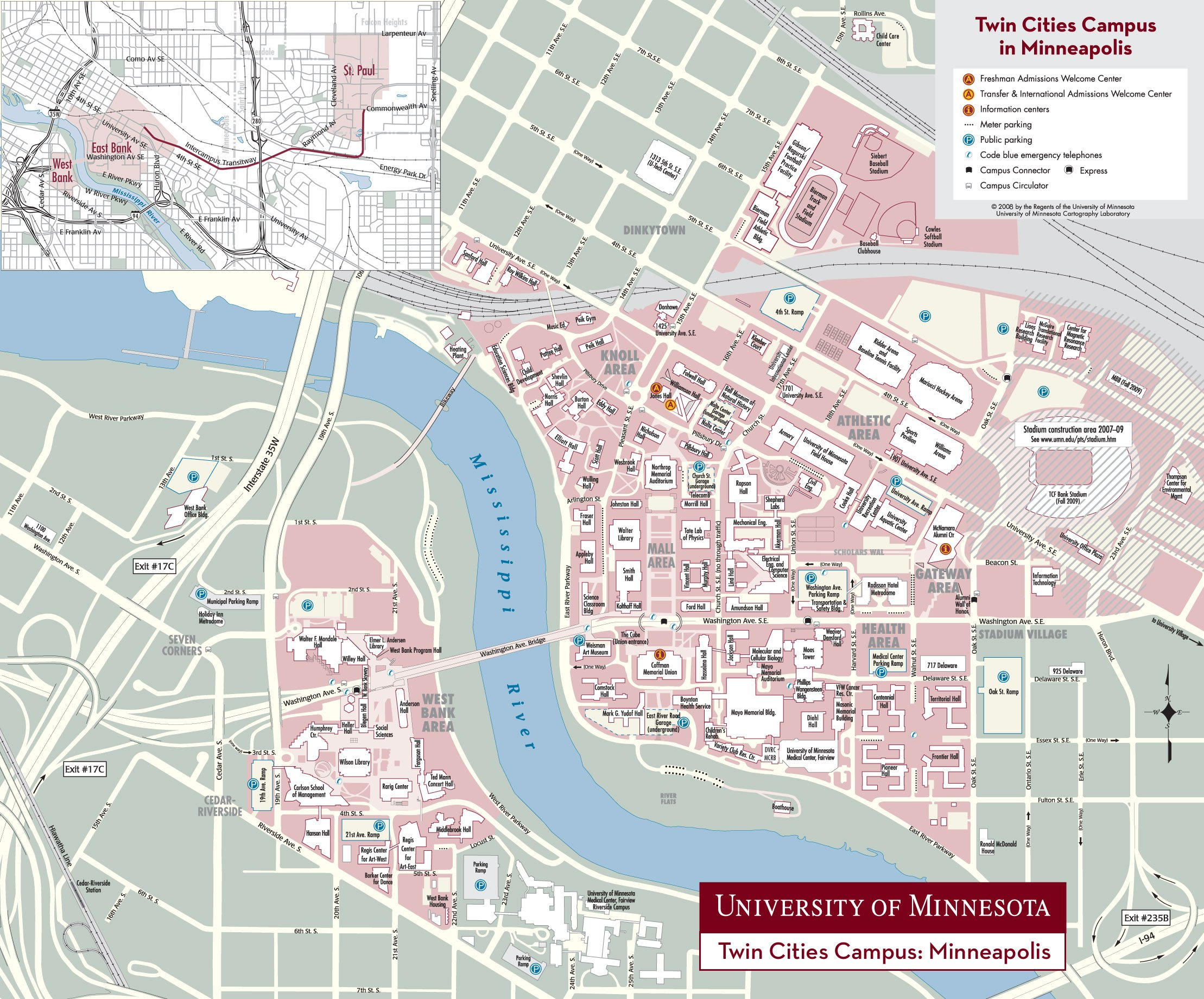 University Of Minnesota Campus Map | Smeka