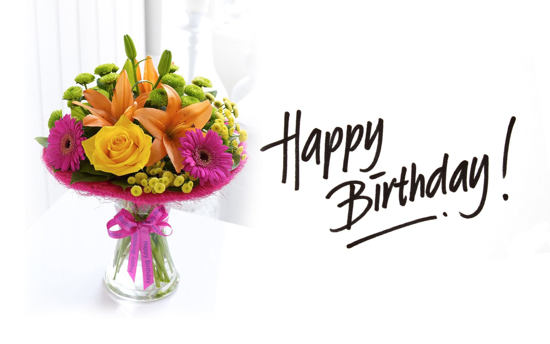 Happy birthday flowers for her same day flower delivery by httptropicaltanningfowp contentuploads201703modern style happy birthday flowers with happy birthday flowers pictures and roses wall 11167 izmirmasajfo