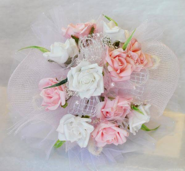 wedding bouquets prices bridal bouquet from artificial flowers 811 3 ...