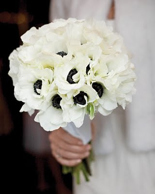 Black And White Flowers For Wedding Same Day Flower Delivery