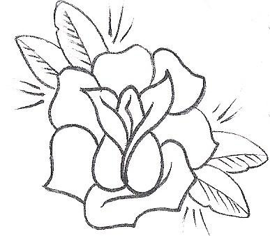Easy Flowers To Draw Step By Step Rose Tattoo Designs 86 Same Day