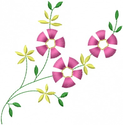 Floral Machine Embroidery Designs Same Day Flower Delivery