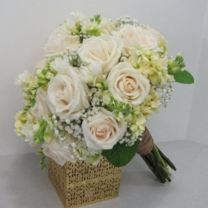 how to keep flowers fresh finished hand tied wedding bouquet