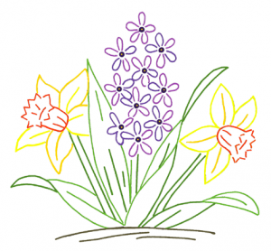 Spring flowers drawing same day flower delivery by httpsmediattyimagesvectorsspring flower drawing vector id637971170s170667a mightylinksfo