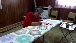 Grandmother's Flower Garden Quilt3