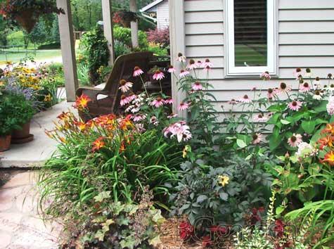 Perennial Flower Garden - Same Day Flower Delivery on blue flowers zone 5, shade garden design zone 5, perennial shade garden plans zone 5, perennial garden ideas,