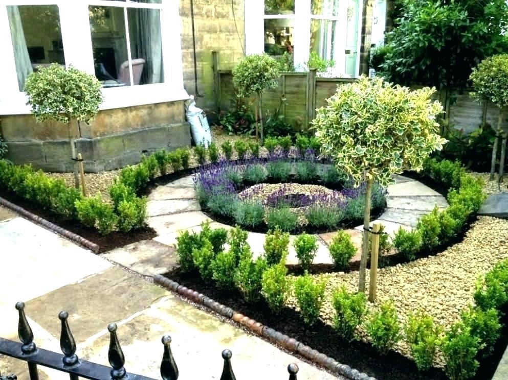 Garden Design In Front Of House