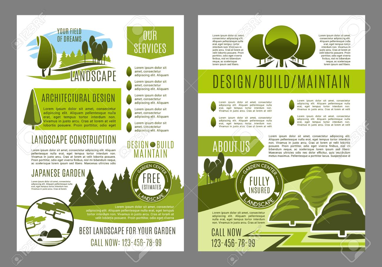 Garden Design Brochure
