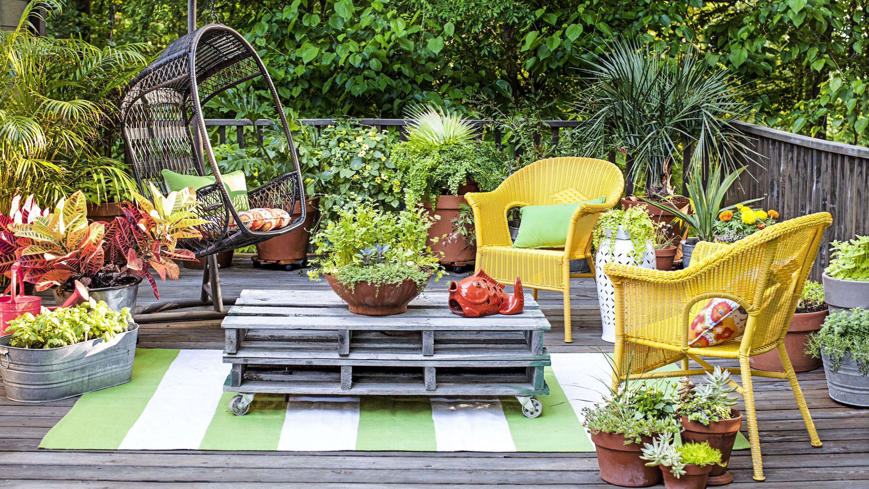 Simple Home Garden Design