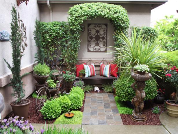 Garden Design Courtyard