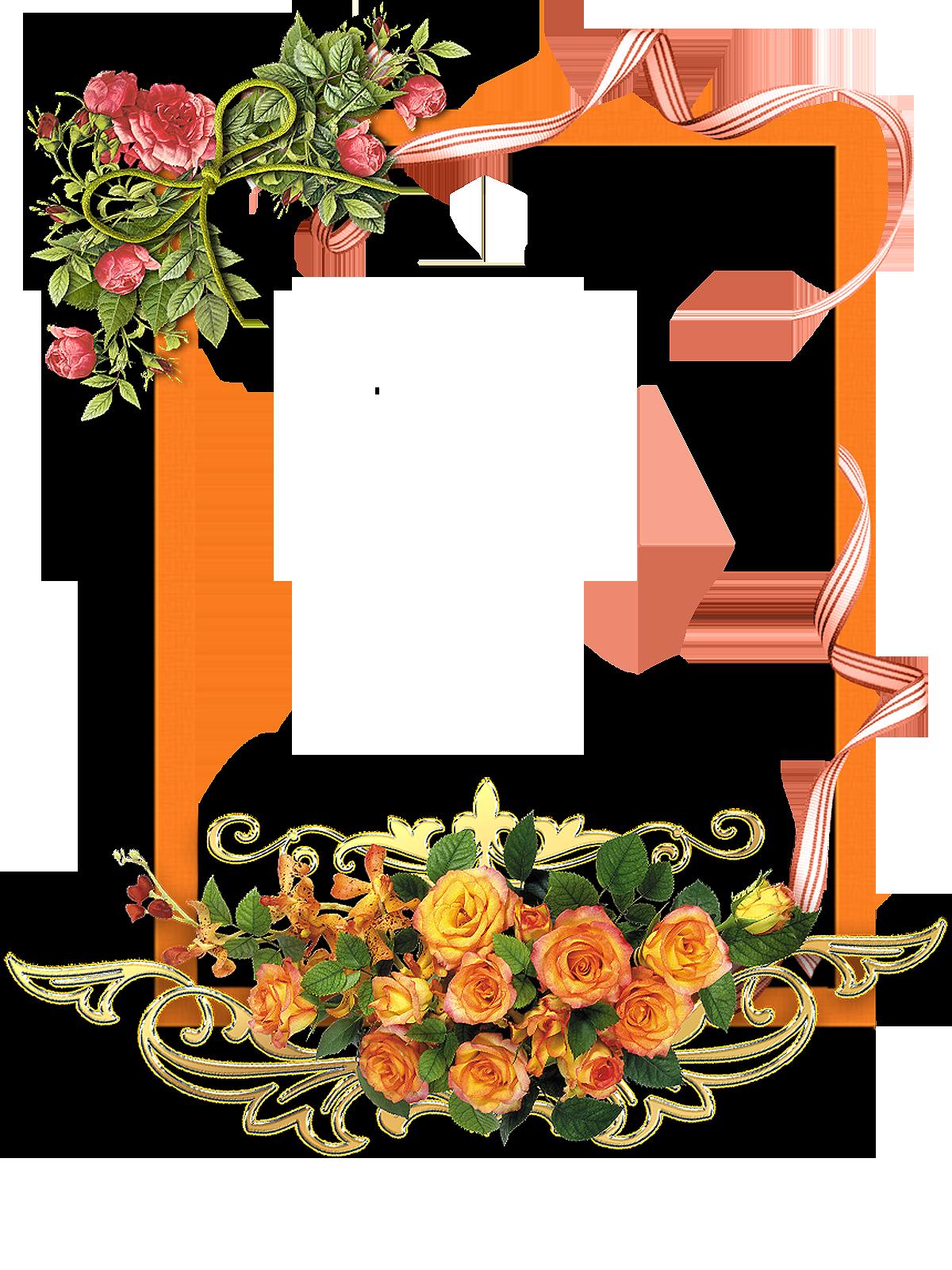 Flower Frame Png Transparent