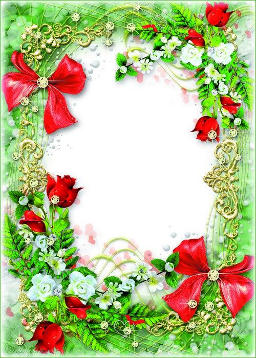 Flower Photo Frame Online