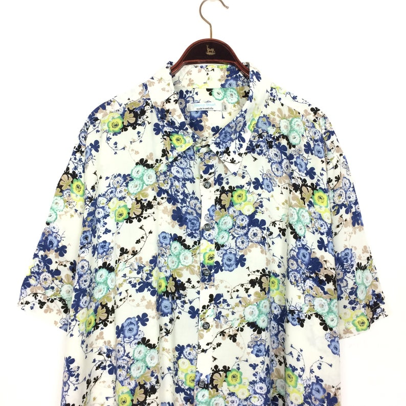 Flower Power Kleidung Mann