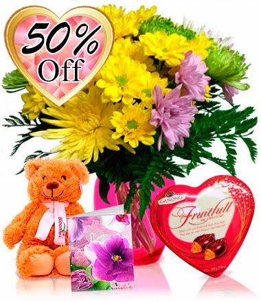 Look for coupons and coupon codes on flower offer (Bloomex)