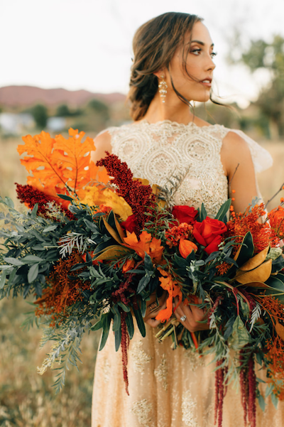 With regards to the bridesmaids' wedding bouquets (crimsonletters.com)