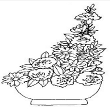 Triangular Shape for Arrangements Flowers